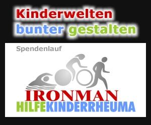 Ironman HIlfe Kinderrheuma